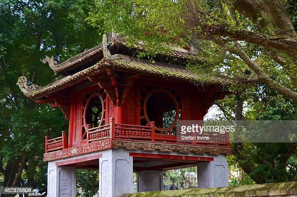 Constellation of Literature pavilion in the Temple of Literature Hanoi Vietnam