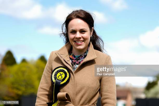 Constituency candidate, Kate Forbes poses for a picture ahead of the results for the Skye, Lochaber and Badenoch Constituency and Regional votes on...
