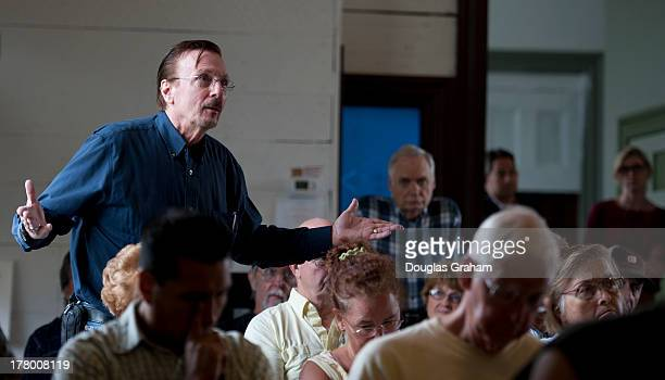 August 26: Constituents ask pointed questions about issues close to them during the Town Hall meeting hosted by Rep. Charlie Dent, R-PA., of the 15th...