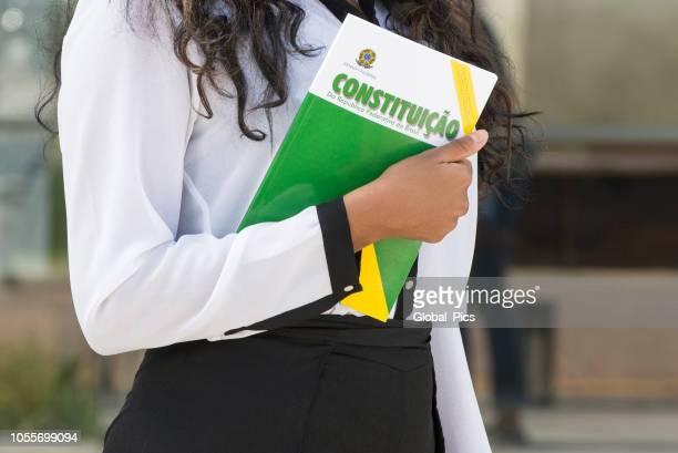 constituição brasileira (constituição brasileira) - legal - fotografias e filmes do acervo