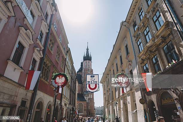 constitution day in poland - martin dm stock pictures, royalty-free photos & images