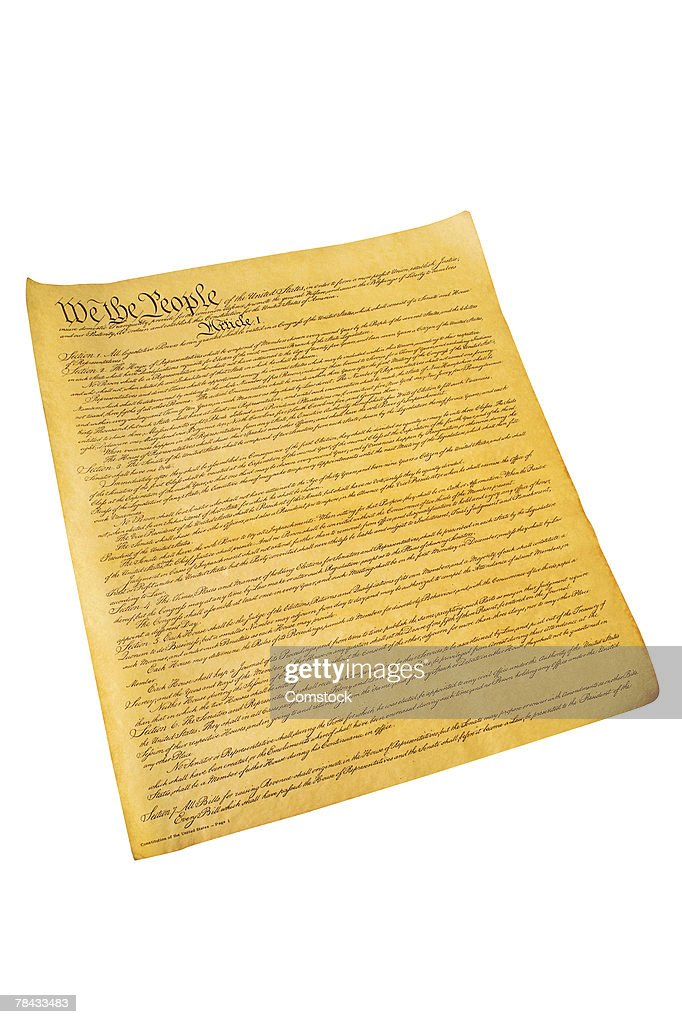 Constitution of the United States : Stock Photo