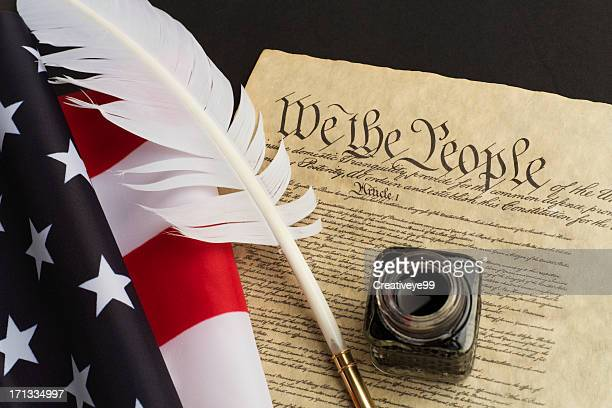 usa constitution - us constitution stock pictures, royalty-free photos & images