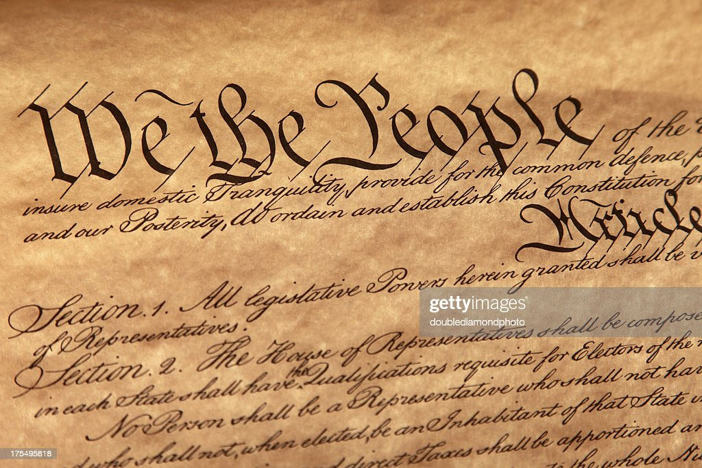US Constitution : Stock Photo