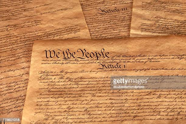 us constitution - us constitution stock pictures, royalty-free photos & images