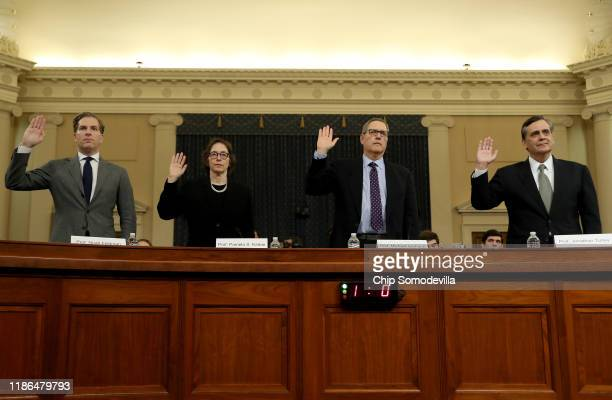 Constitutional scholars Noah Feldman of Harvard University, Pamela Karlan of Stanford University, Michael Gerhardt of the University of North...