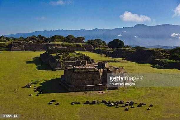 Constructed Around 100 Bc Building J Was Used For Astronomical Calculation And Is Located In The Grand Plaza At Monte Alban The Zapotec City Which...