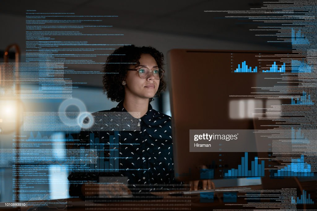 Constructing a new software design : Stock Photo