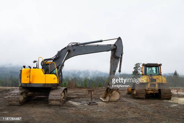建設エリア - 建設用機器 ストックフォトと画像