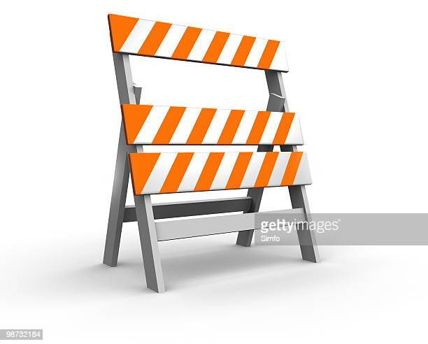construction barrier - construction barrier stock pictures, royalty-free photos & images