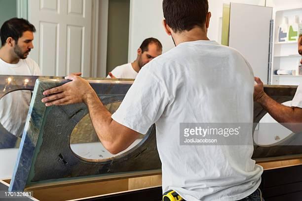 Konstruktion: Renovierung der Badezimmer