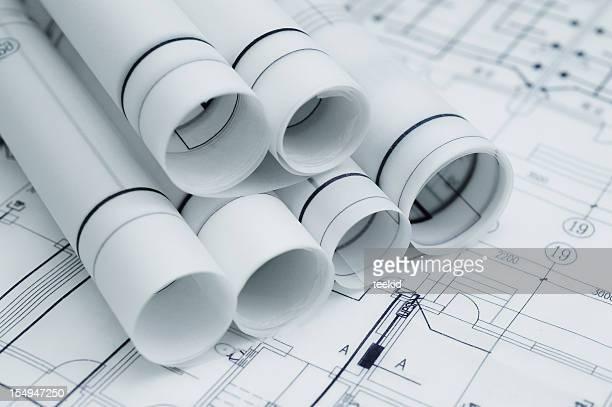 Construction Blueprint- Architecture Business