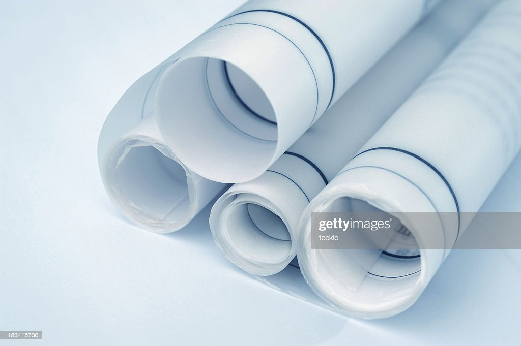Construction blueprintarchitecture industry business paper stock construction blueprint architecture industry business paper stock photo malvernweather Gallery