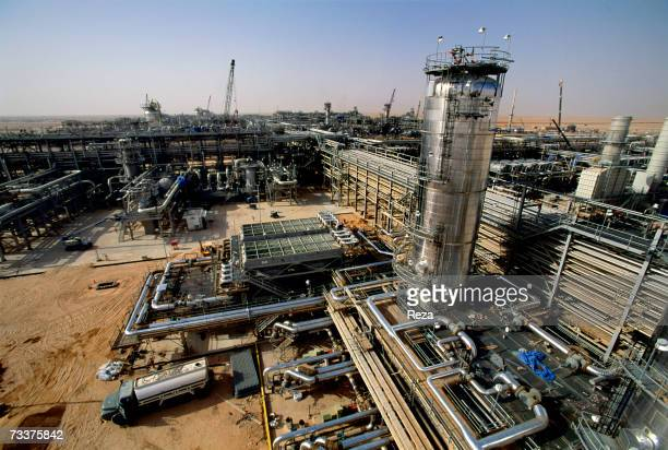 Construction continues for the Haradh Natural Gas And Oil Development Project to build a gas plant which delivers gas to the Saudi population and...
