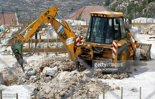 Construction continues in Shilo This is the site of a new community center Shilo is a large West Bank settlement located north of Jerusalem was once...