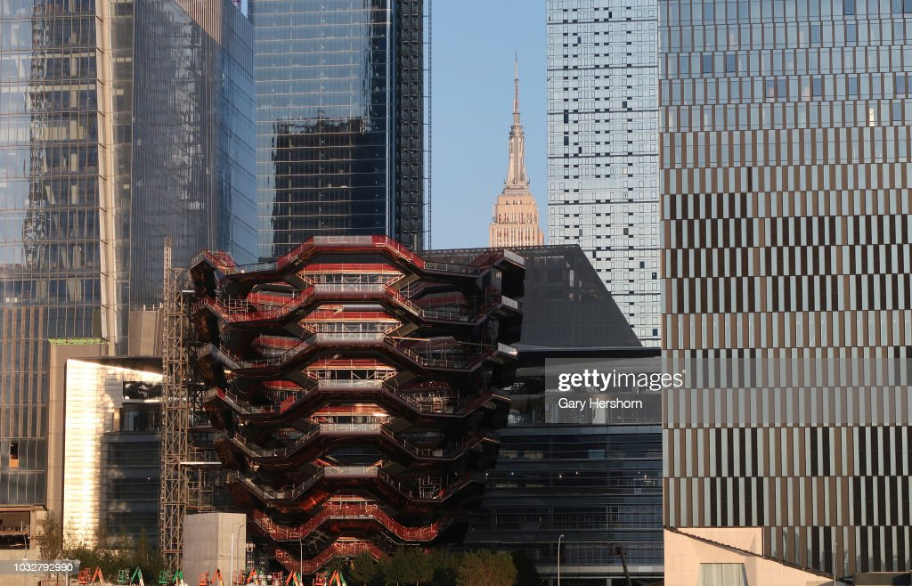 Hudson Yards In New York City : News Photo