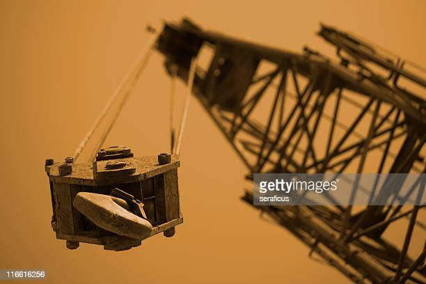 construction crane - crane construction machinery stock pictures, royalty-free photos & images