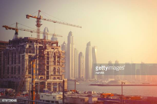 Construction development in Dubai