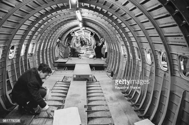 Construction du prototype 2 du Concorde à Filton en 1967 RoyaumeUni
