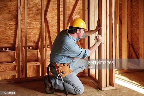 Construction engineer measurement
