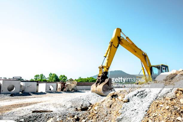 construction equipment - road construction stock photos and pictures