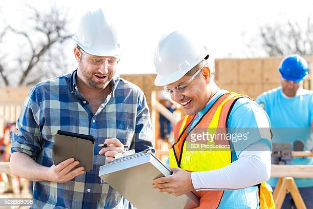 Construction foreman review project