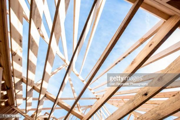 construction hdr - advertising column stock-fotos und bilder