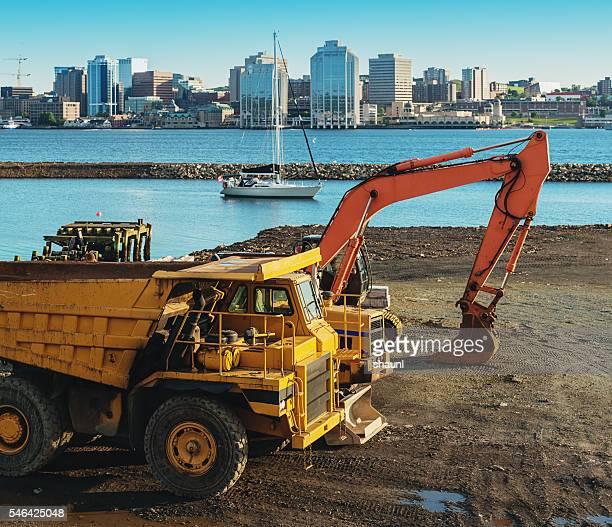 Construction in Halifax