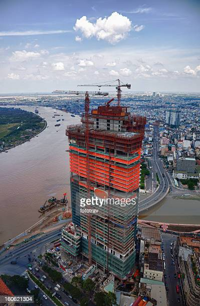 Construction in Ho Chi Minh City