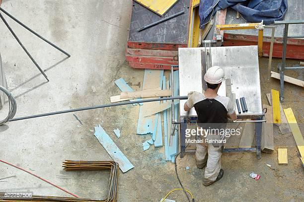Construction in Zurich City