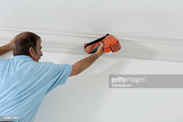 Construction: Installing crown molding