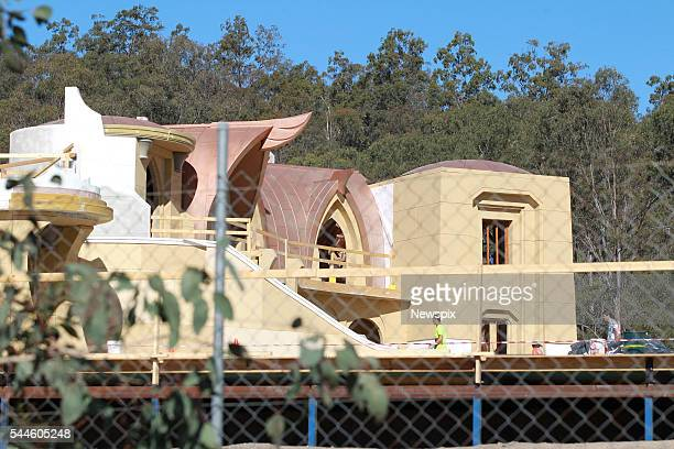 Construction is underway of set of 'Thor Ragnarok' in Helensvale on the Gold Coast Queensland