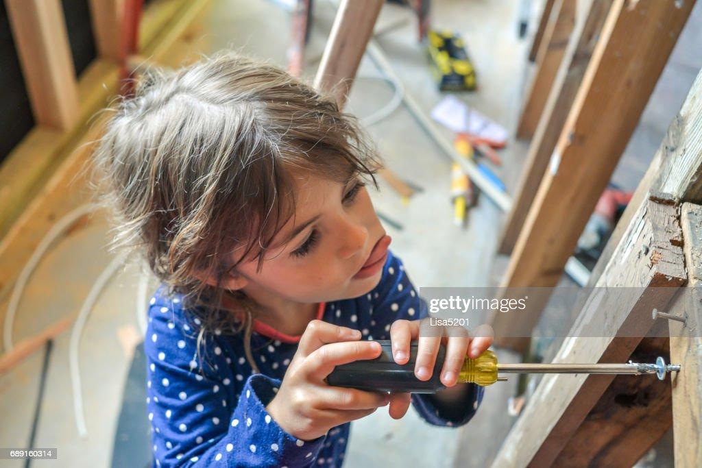 Construction Kid : Stock Photo
