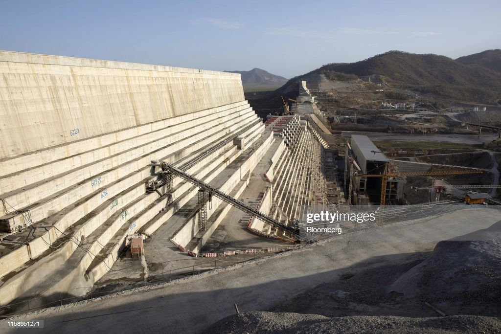 Grand Ethiopian Renaissance Dam Haunts Nations's Rebirth : News Photo