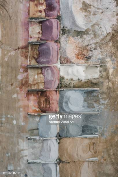 construction materials shot from directly above, france - sarthe stock pictures, royalty-free photos & images