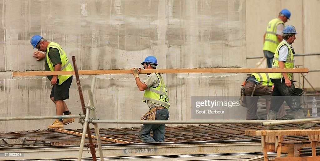 Construction Firm Multiplex Doubles Profits : News Photo