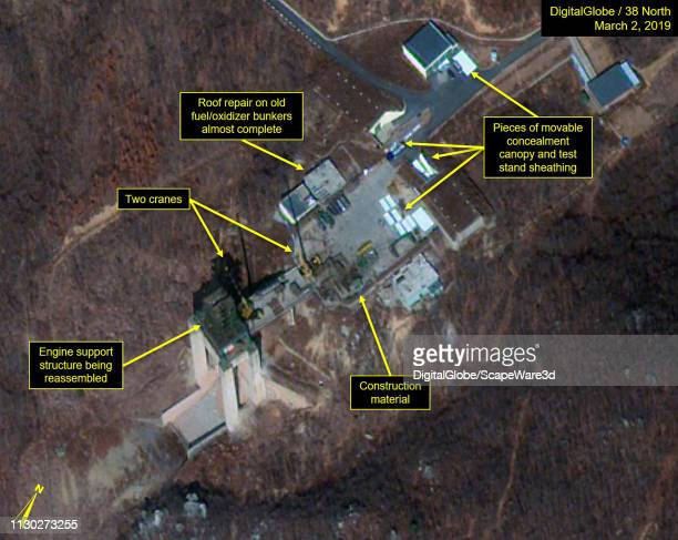 2A Construction observed at Vertical Engine Test Stand Mandatory credit for all images DigitalGlobe/38 North via Getty Images
