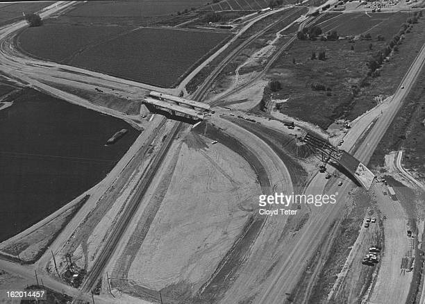 JUL 11 1962 JUL 14 1962 Construction of a Greeley bypass on US 85 is well under way The work shown here on the northern edge of the city is the...