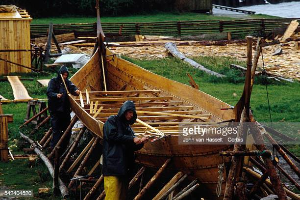 Construction of a Viking Ship