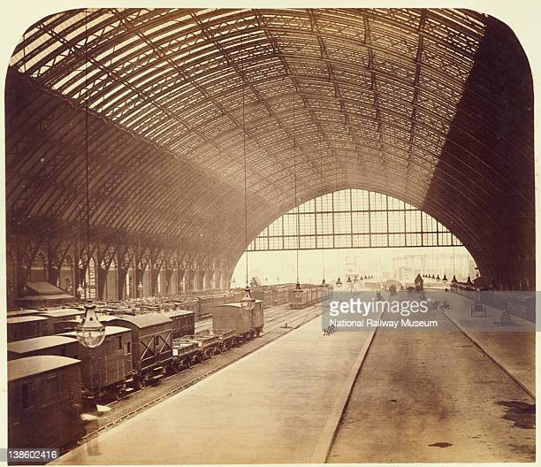 Construction of Midland Railway extension to London St Pancras 18671868