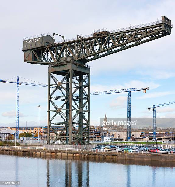construction of the scottish hydro arena, glasgow - theasis stock pictures, royalty-free photos & images