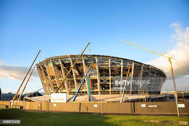 construção o scottish hydro arena, glasgow - theasis imagens e fotografias de stock