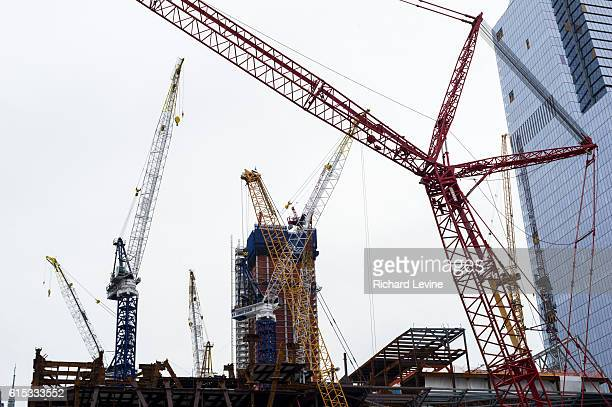 Construction on Hudson Yards 'New York's Newest Neighborhood' on the west side of New York on Saturday March 12 2016