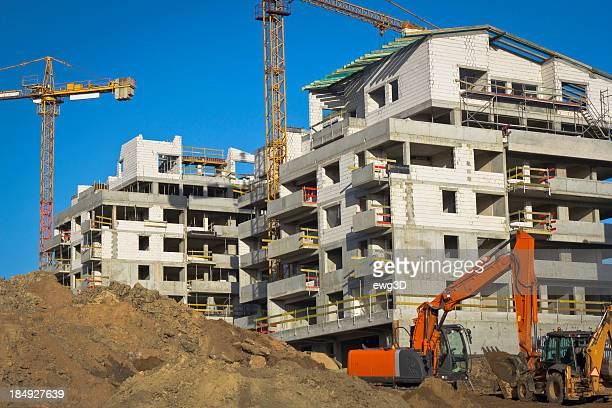 サイトで工事 - 吊り上げる ストックフォトと画像