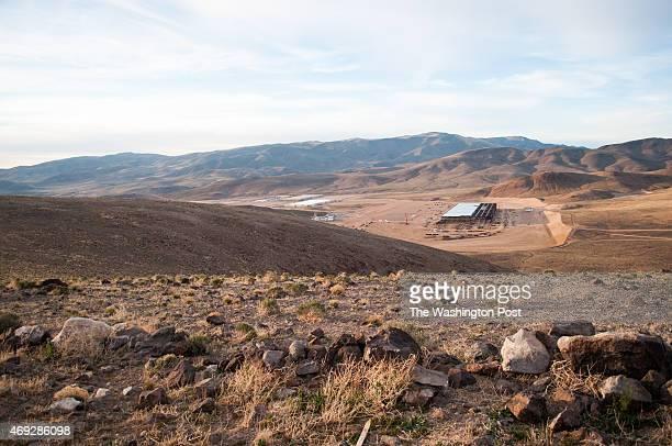 Construction on the Tesla Motors Gigafactory east of Reno Nev March 25 2015