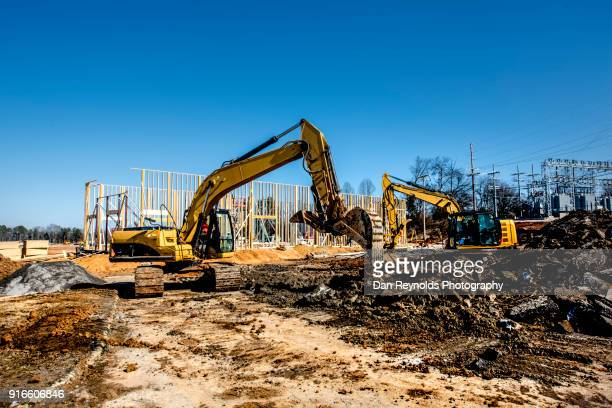 construction - bulldozer stock pictures, royalty-free photos & images