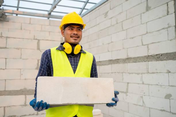 Construction plaster concrete Concept.