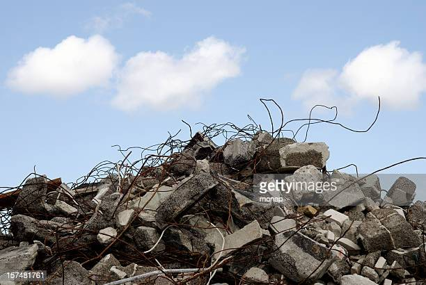 construction scrap - rubble stock pictures, royalty-free photos & images