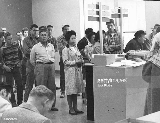 MAR 13 1961 Construction Shutdown Adds to Unemployment Claims The office of the Colorado Employment Dept 251 E 12th Ave was a busy place Monday as...
