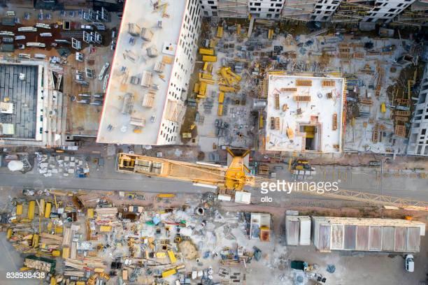 Baustelle - Luftbild